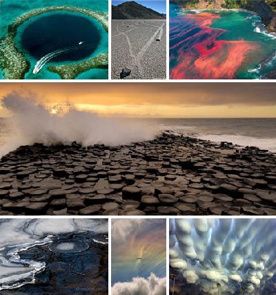 sette meravigli della natura