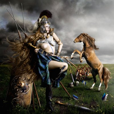 Boudica the celtic qeen