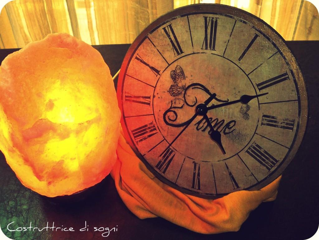 Decoupage orologio antico