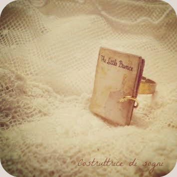 anello libro piccolo principe